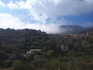 Low cloud over Valldemossa