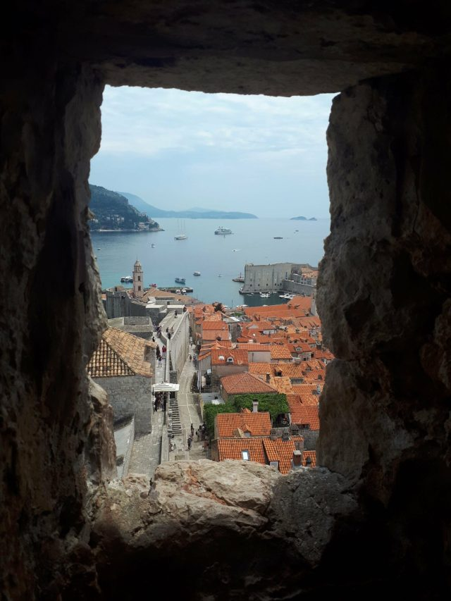 Dubrovnik City Walls - view from Minceta Tower