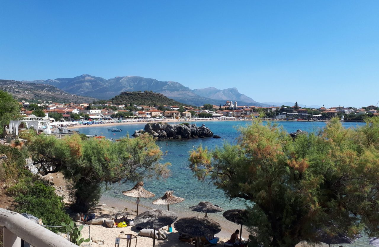 View Of Stoupa