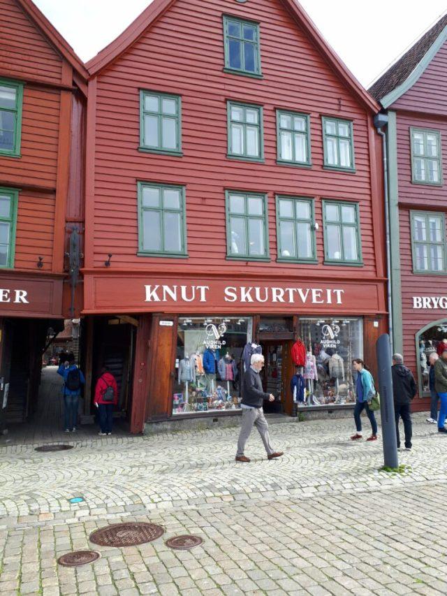 Bryggen wooden houses