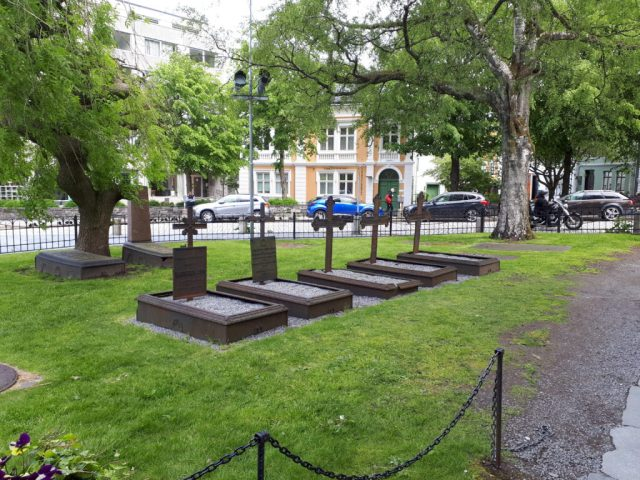 St Mary's churchyard Bergen