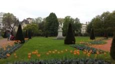 Botanical gardens at Parc de la Tête d'Or