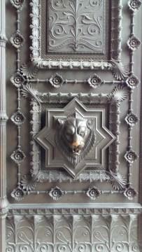 Doors at Basilica de Notre Dame Lyon