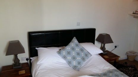 River Cafe Glasbury on Wye bedroom