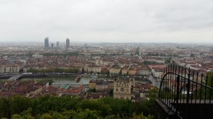 View from Fourviere Hill
