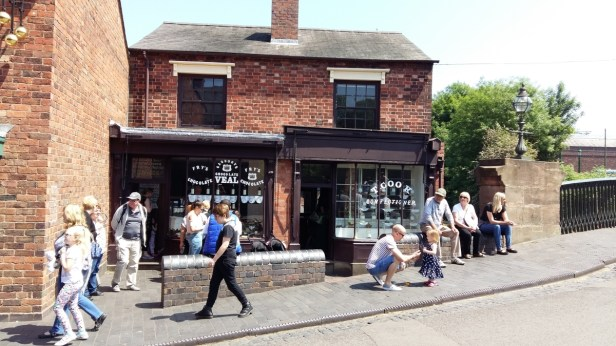 Cake shop and sweet shop Black Country Museum