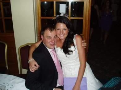 tipsy-bride-and-dad