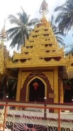 Dharmikarama Burmese Temple pagoda