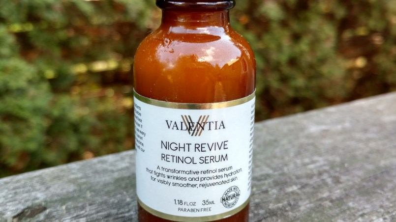 Valentia Night Revive Retinol Serum