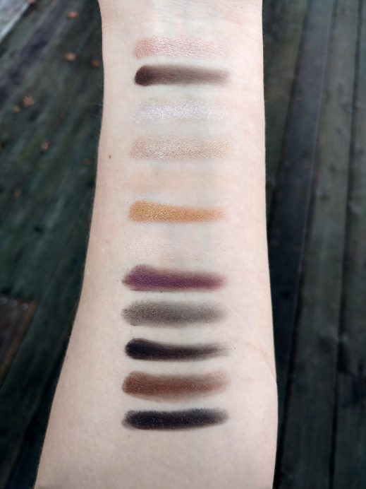 Maybelline 24k nudes swatches