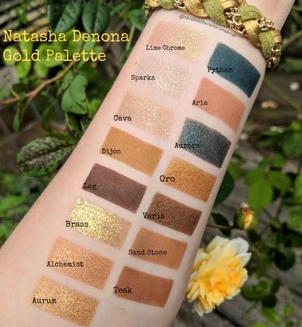 Natasha Denona Gold Palette