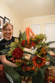 Melissa's fall wreath!