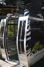 The Crystal Cabin gondola - check out the glass floor!