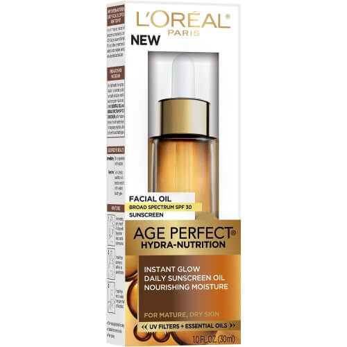 L'Oréal Paris Age Perfect Hydra-Nutrition Facial Oil with SPF 30