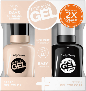 Sally Hansen Miracle Gel duo pack
