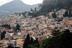 Looking over Taormina