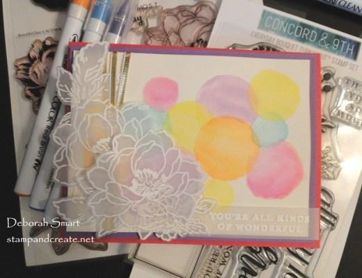 Watercolour Polka Dots