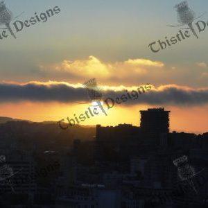 Photo Card - San Francisco Sunset