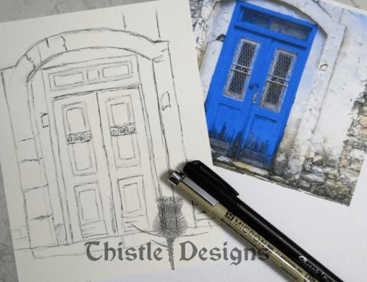 Free Online Sketch & Watercolour Class