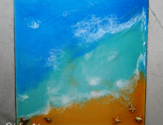 Create Art With Resin
