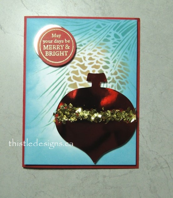 Another Ornament Card