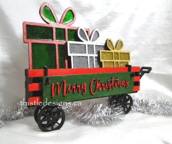 Christmas Presents Wagon