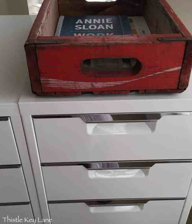 Lots of drawers and storage