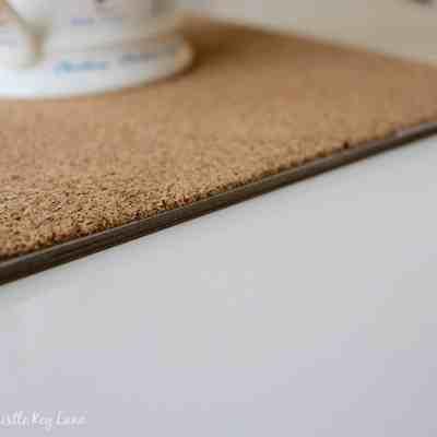 Cork Shelf Liner