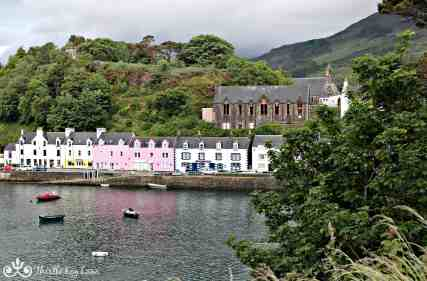 Most photographed view of Portree