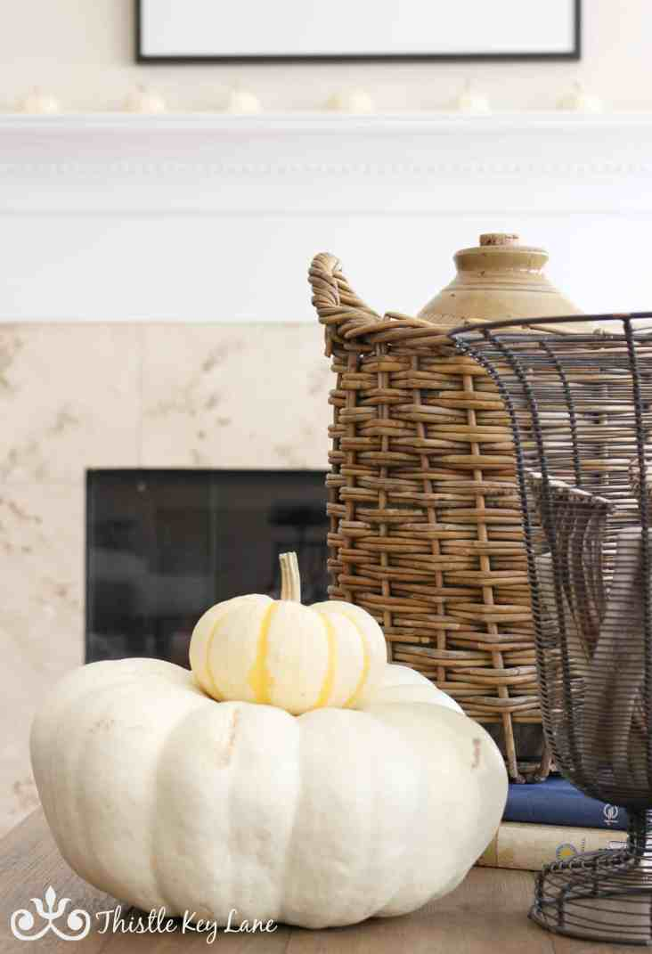 How to decorate for fall.