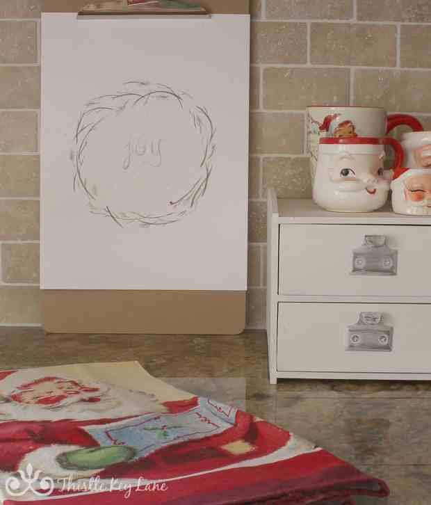 Kitchen Christmas Decor