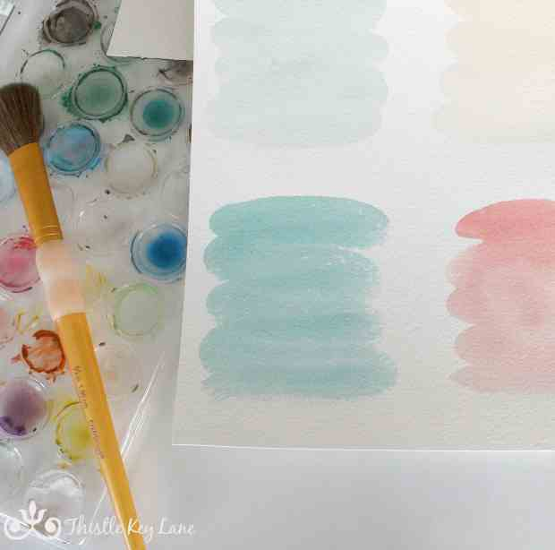 Watercolor Labels For Jars