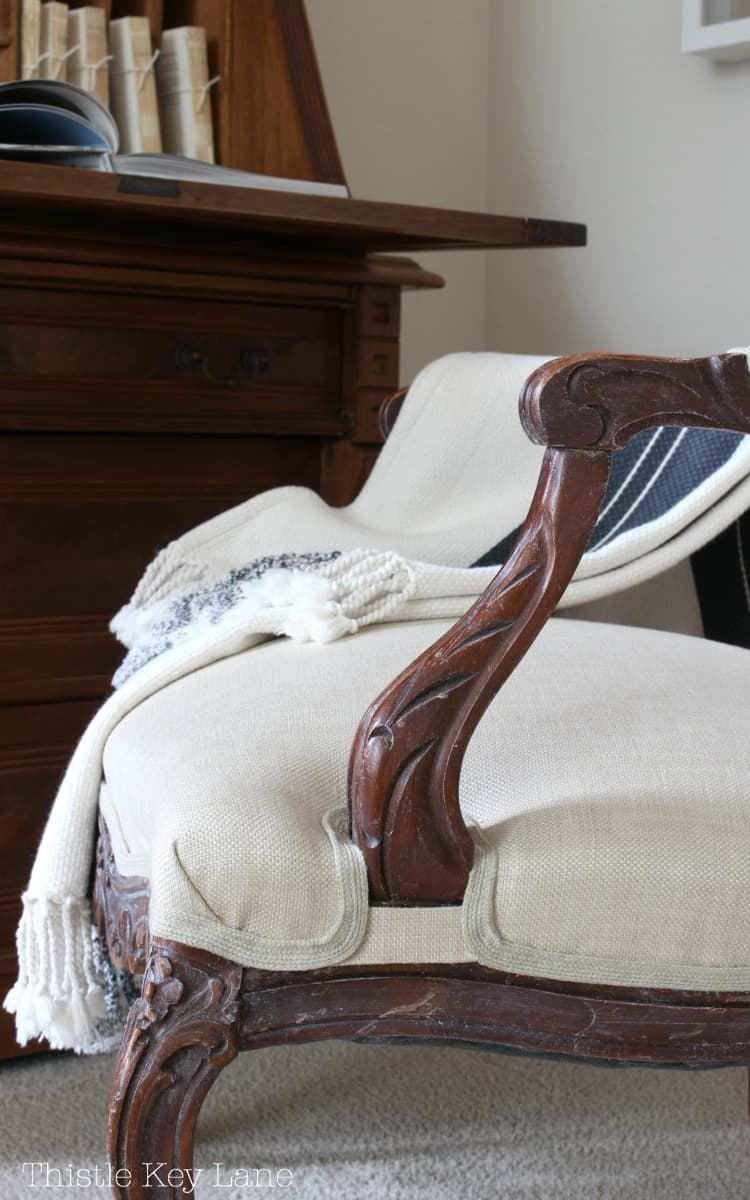 Updating French Chairs