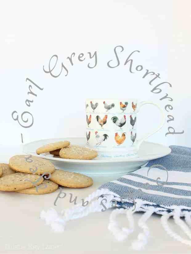 Earl Grey Shortbread Cookie Recipe