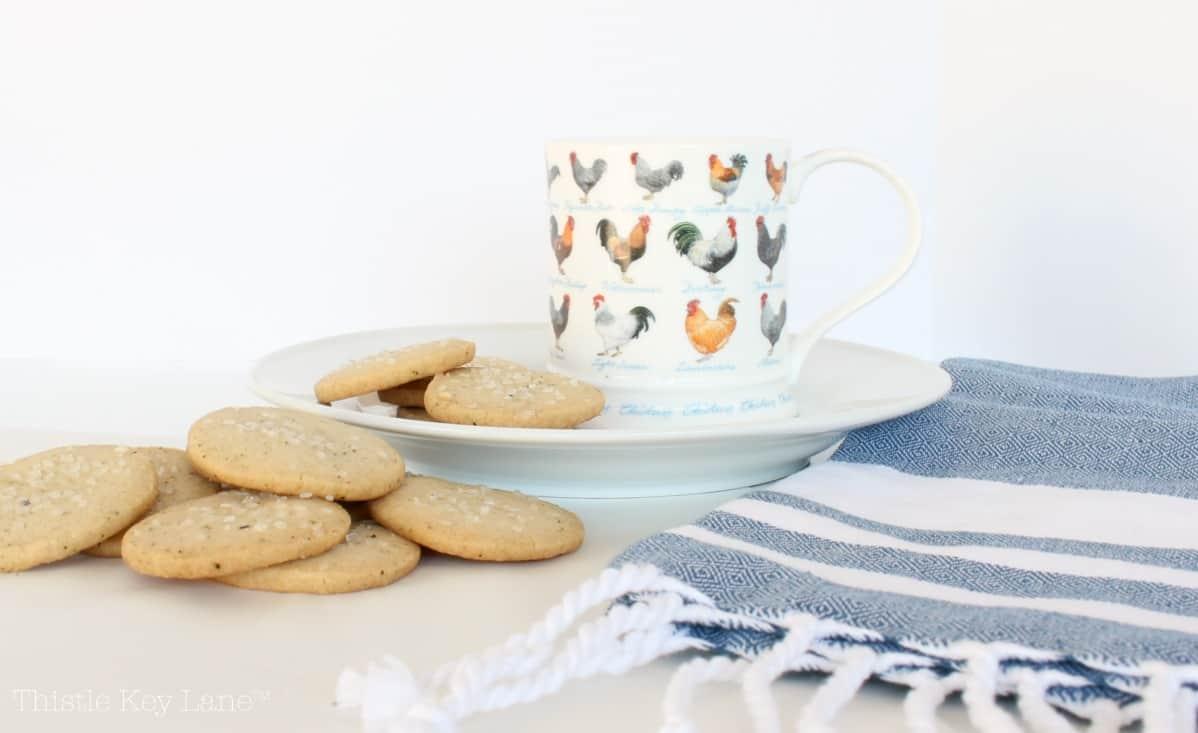 Earl Grey Shortbread Cookies – Thistle Key Lane