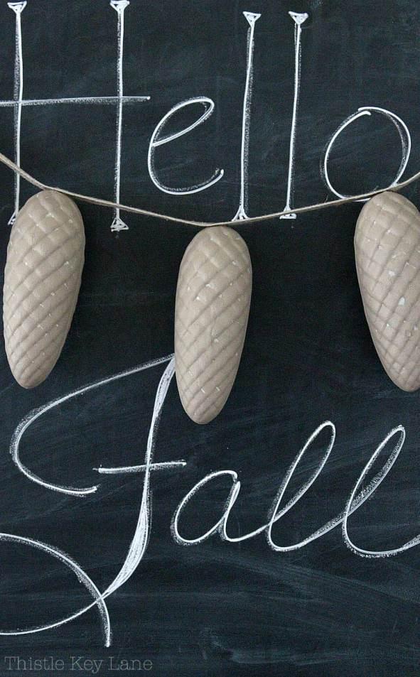 Hello Fall Chalkboard