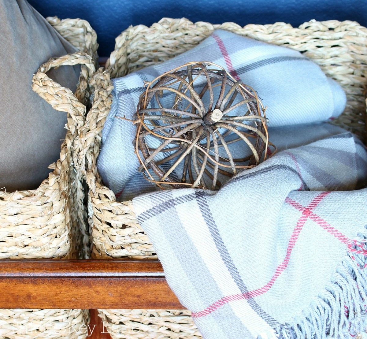 Staying Organized With Baskets