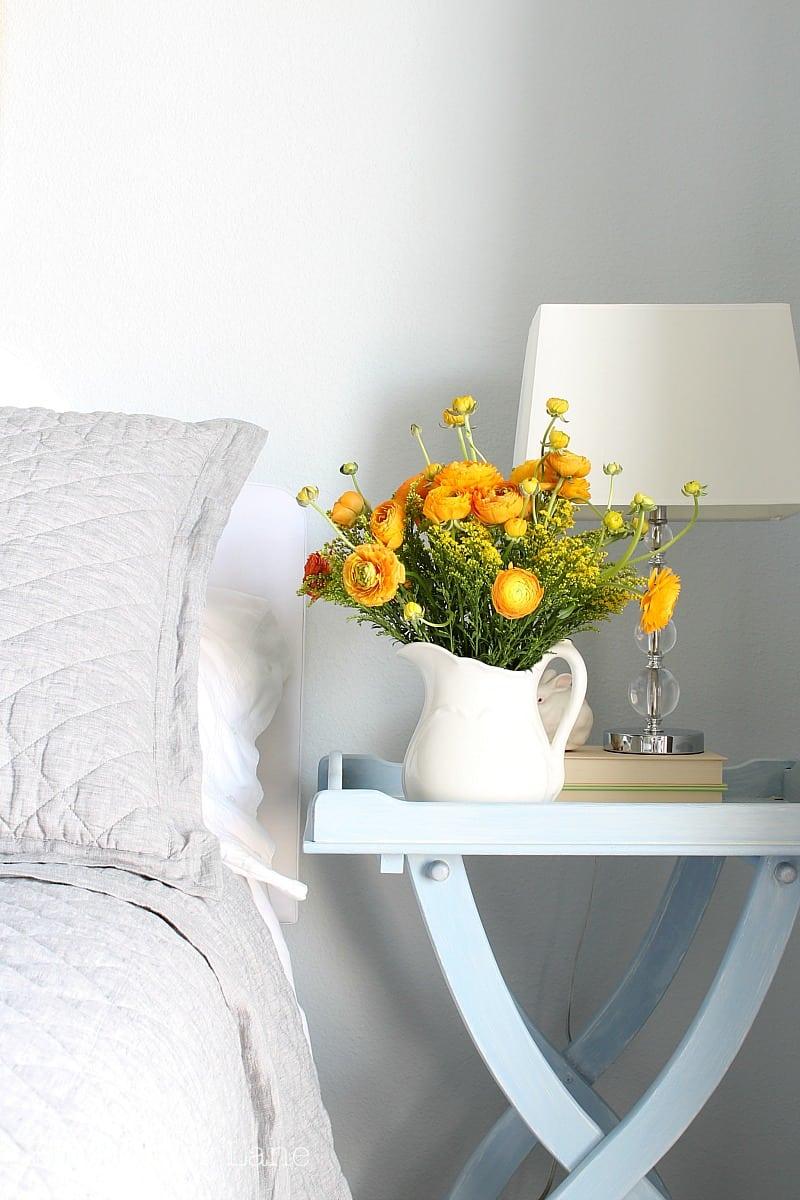 Comfortable guest bedroom essentials.