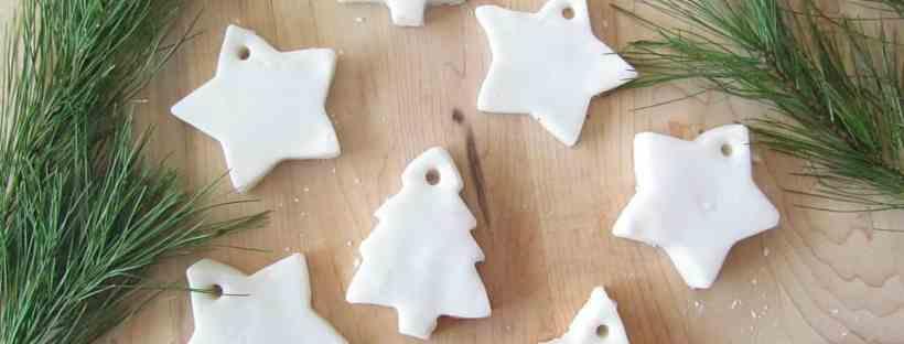 Baking soda ornaments.