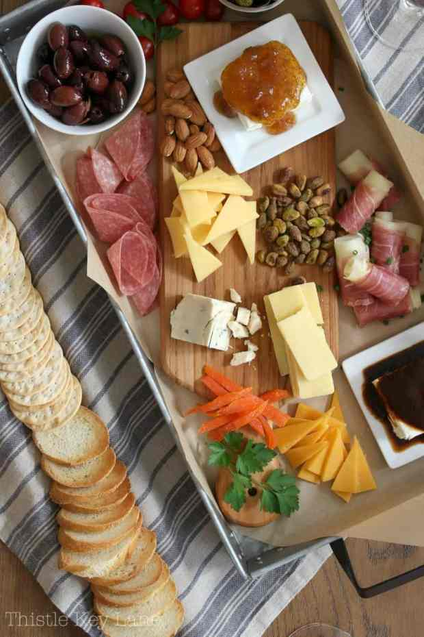 New version of the charcuterie.