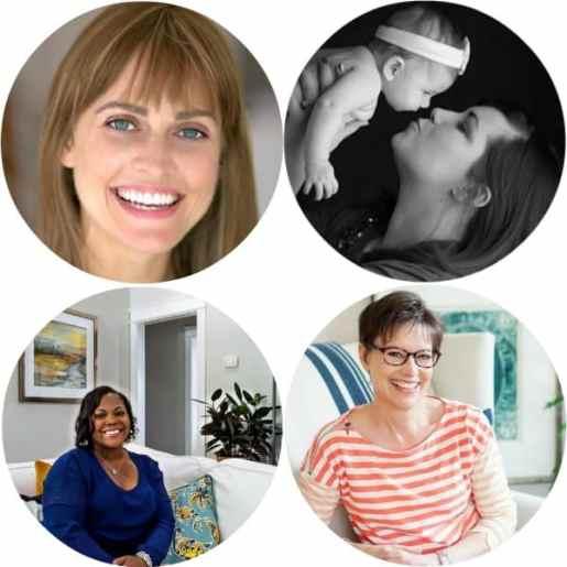 The Creative Circle Hostesses.
