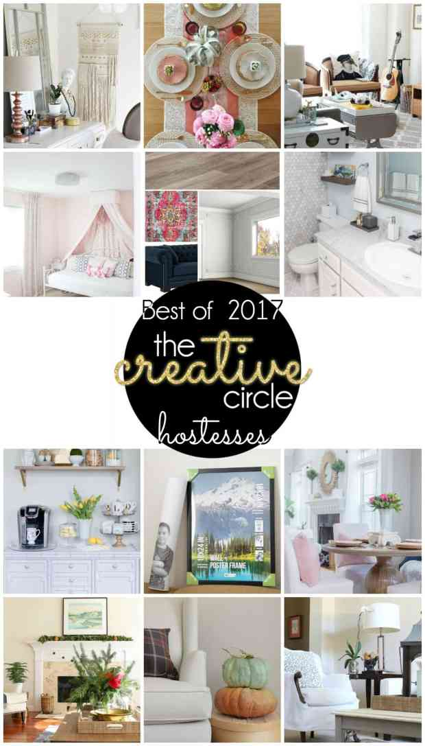 The Creative Circle hostesses best post of 2017.