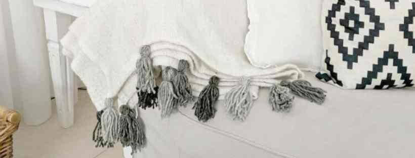 Kreativ K Beautiful Ikea hack tassel blandet.