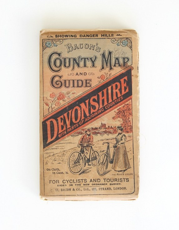 Vintage pocket map for tourist.