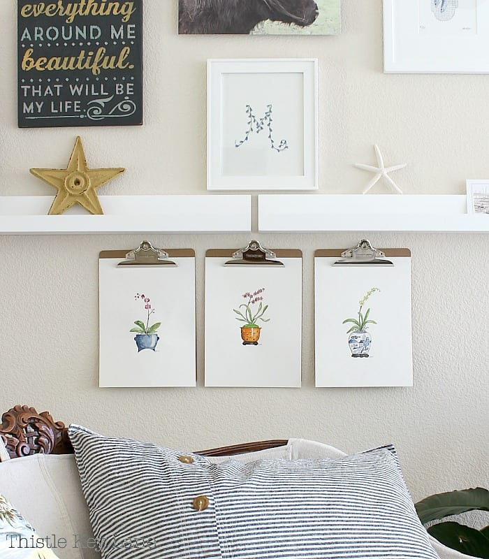 Easy framing ideas to display art.