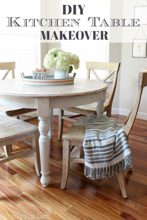 DIY kitchen table makeover. Saving for inspiration.