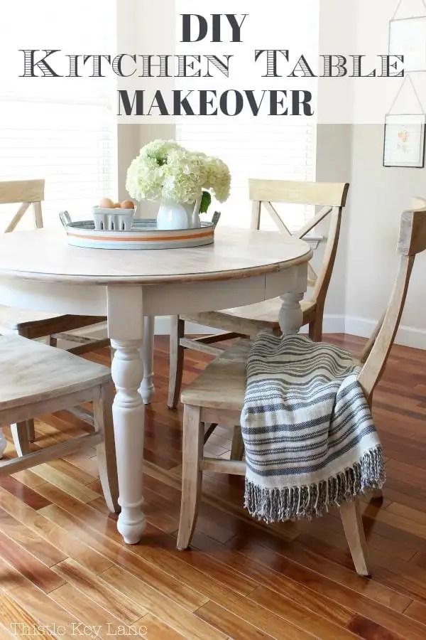DIY kitchen table makeover. Saving for inspiration.
