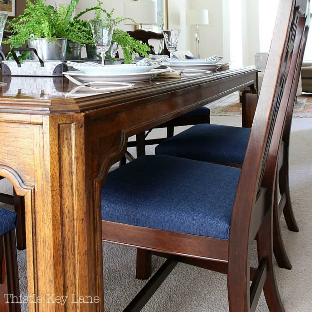 How To Recover Seat Cushions Thistle Key Lane