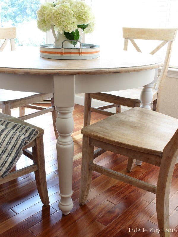 Diy Kitchen Table Makeover Thistle Key Lane