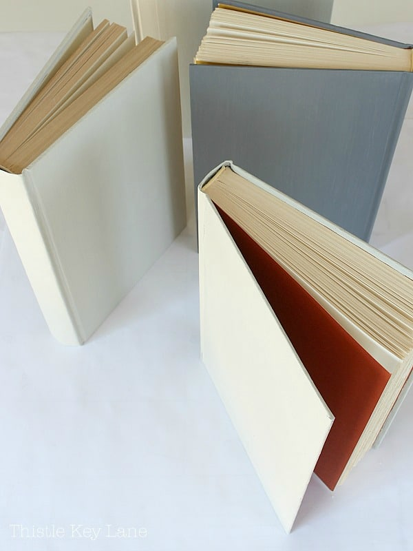How to paint book covers tutorial.